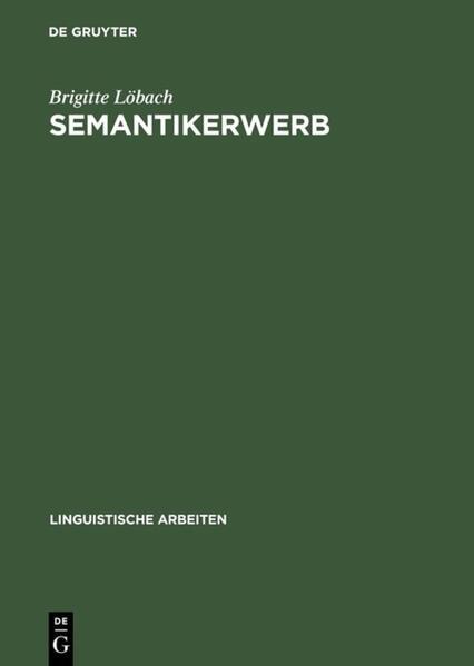 Semantikerwerb als Buch von Brigitte Löbach