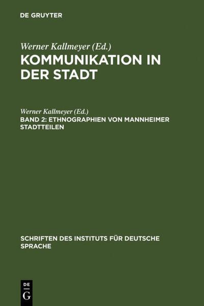 Ethnographien von Mannheimer Stadtteilen als Bu...