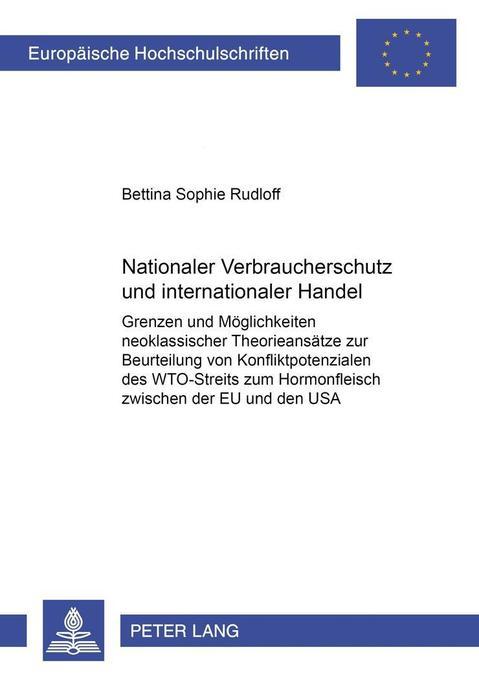 Nationaler Verbraucherschutz und internationale...