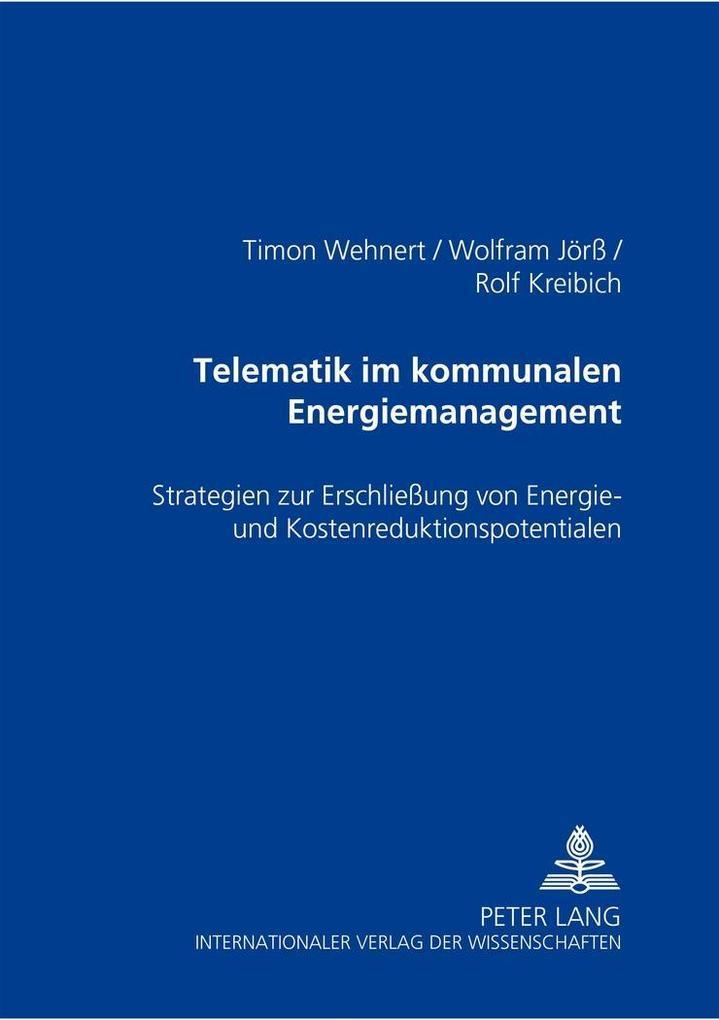 Telematik im kommunalen Energiemanagement als B...