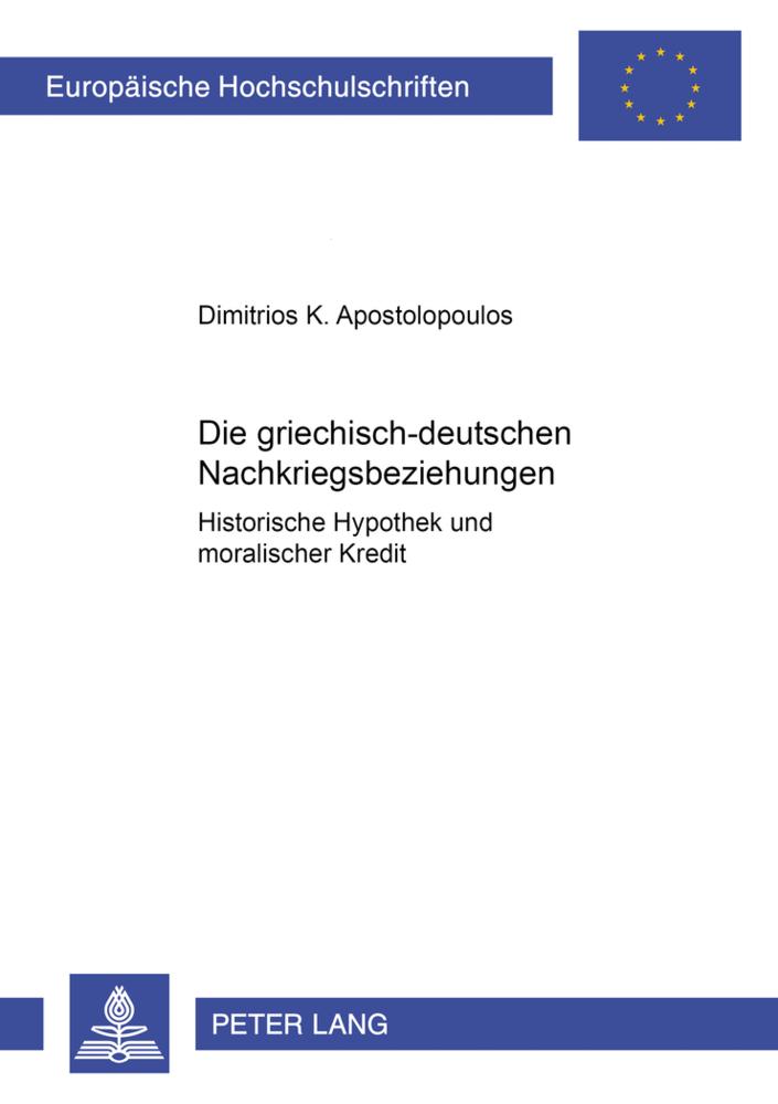 Die griechisch-deutschen Nachkriegsbeziehungen ...