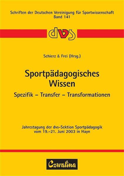Sportpädagogisches Wissen als Buch von