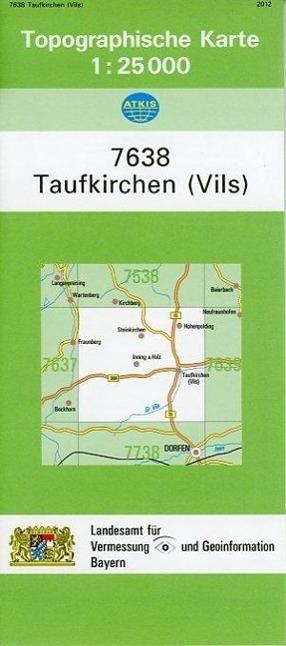 Taufkirchen (Vils) 1 : 25 000 als Buch von
