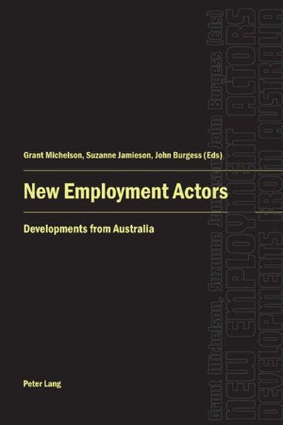 New Employment Actors als Buch von