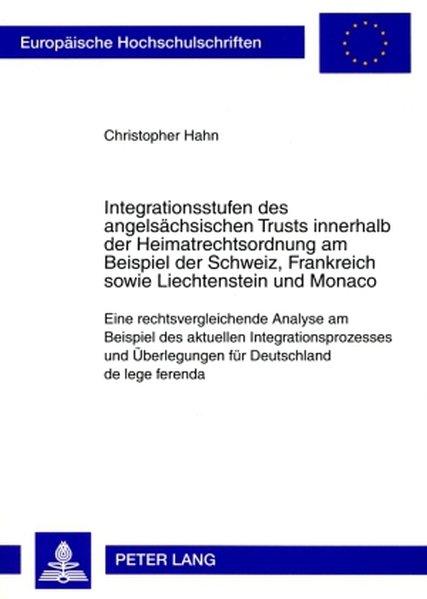 Integrationsstufen des angelsächsischen Trusts ...