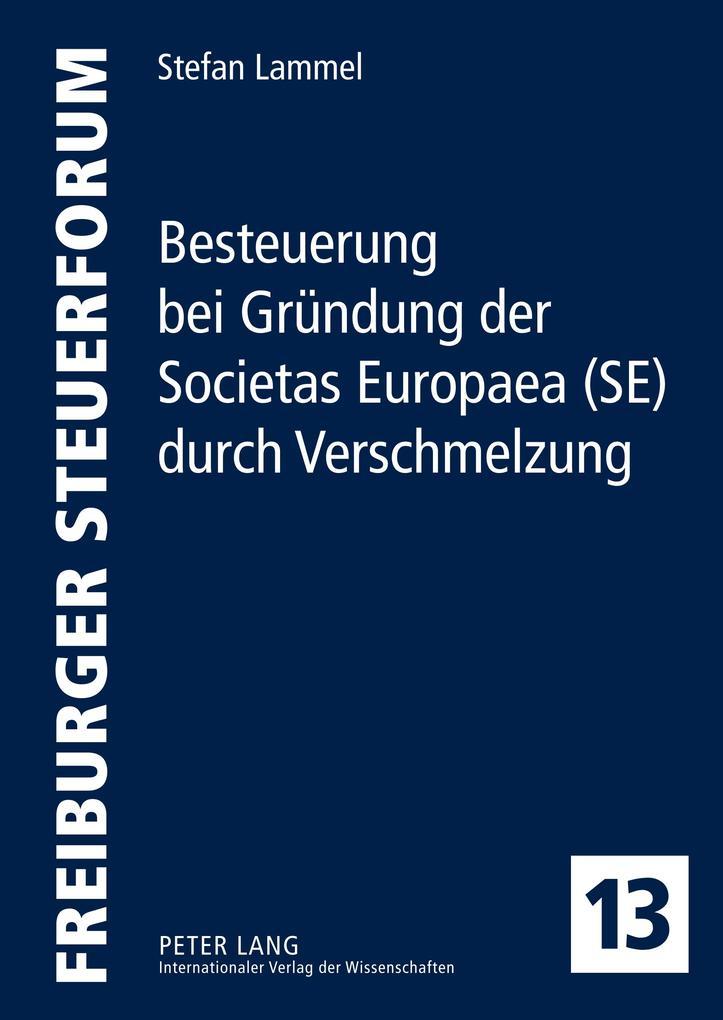Besteuerung bei Gründung der Societas Europaea ...