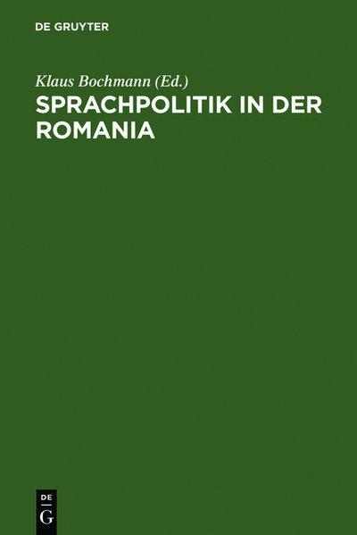 Sprachpolitik in der Romania als Buch von Leipz...