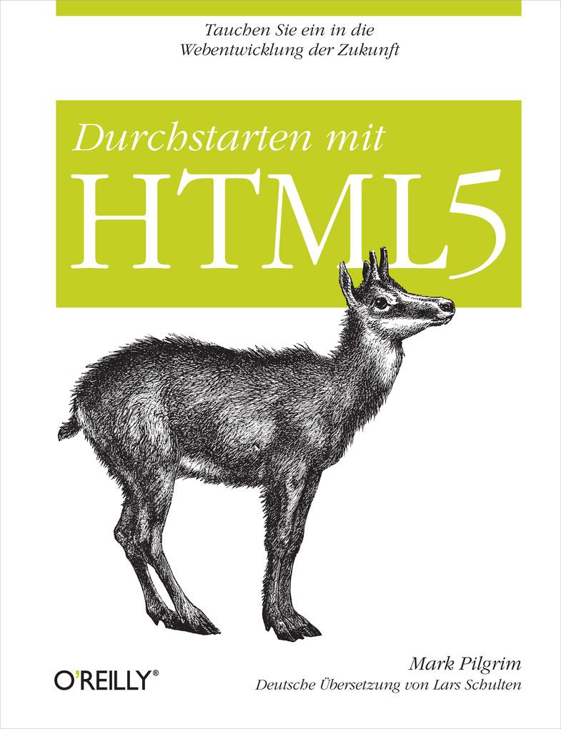 Durchstarten mit HTML5 als eBook Download von M...
