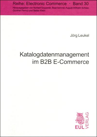Katalogdatenmanagement im B2B E-Commerce als eB...