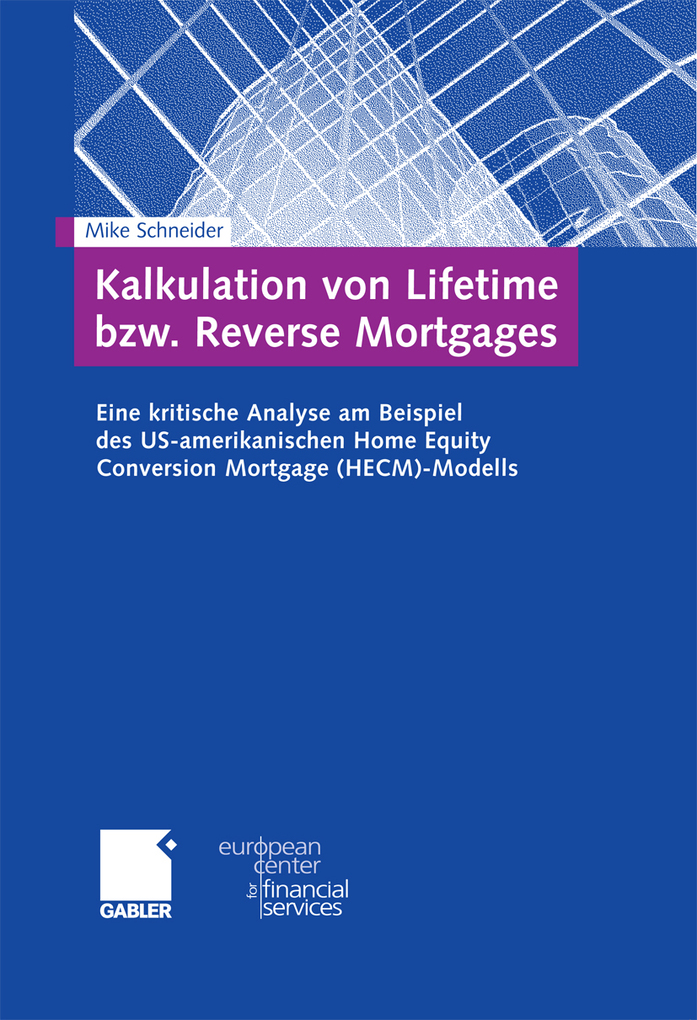 Kalkulation von Lifetime bzw. Reverse Mortgages...