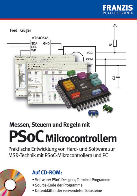 Messen, Steuern, Regeln mit PSoC-Mikrocontrolle...
