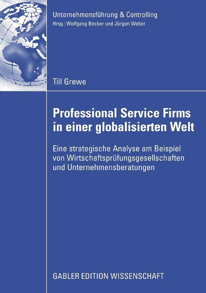 Professional Service Firms in einer globalisier...
