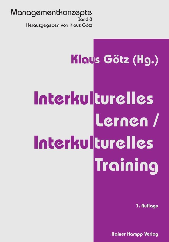 Interkulturelles Lernen /Interkulturelles Train...