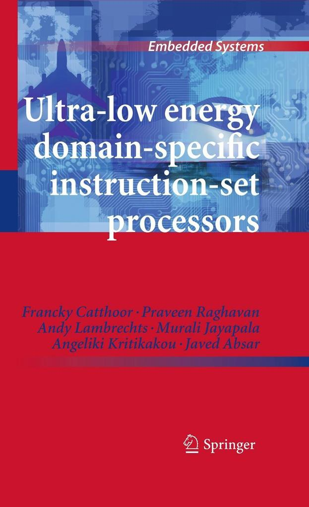 Ultra-Low Energy Domain-Specific Instruction-Se...