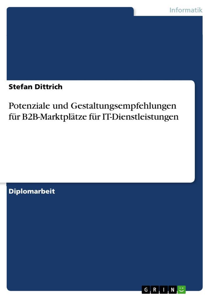 Potenziale und Gestaltungsempfehlungen für B2B-...