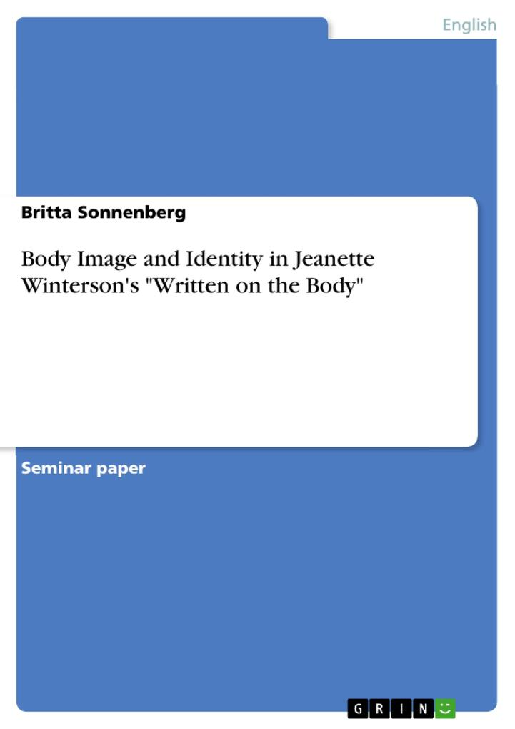 Body Image and Identity in Jeanette Winterson´s...