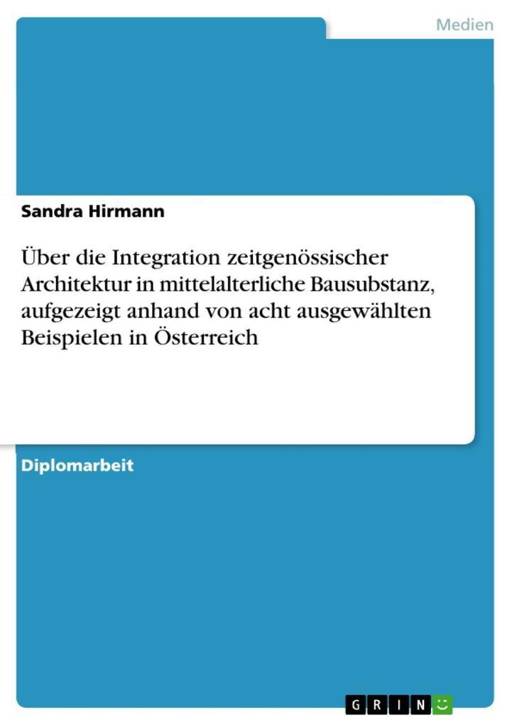 Über die Integration zeitgenössischer Architekt...