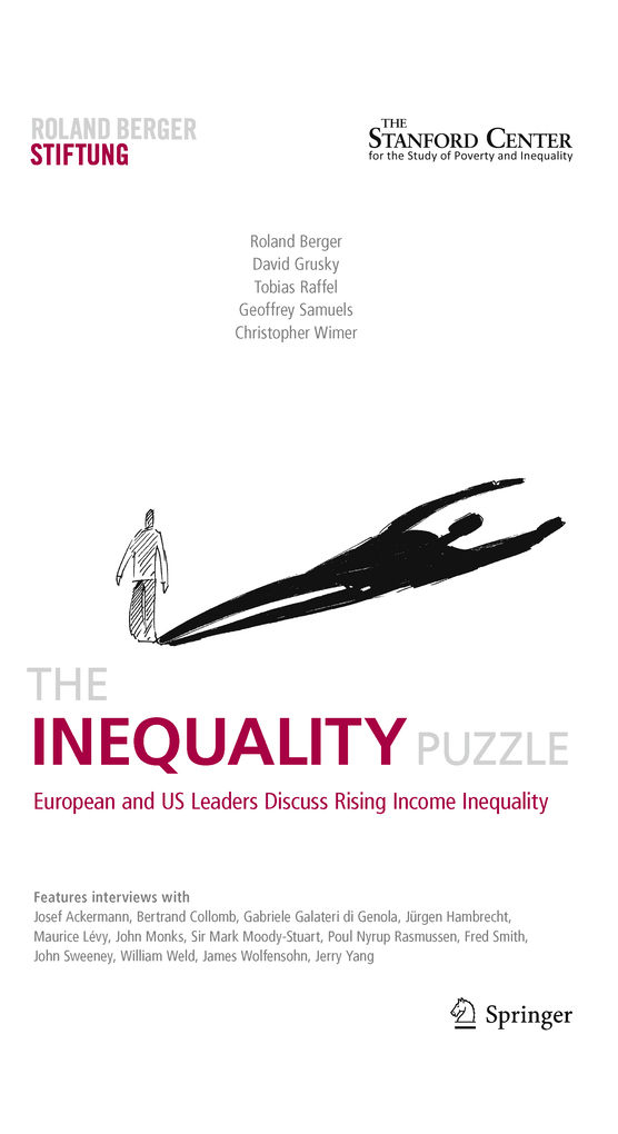 The Inequality Puzzle als eBook Download von Ro...