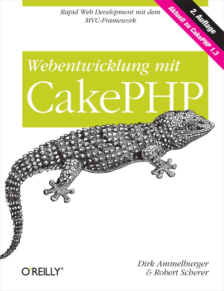 Webentwicklung mit CakePHP als eBook Download v...
