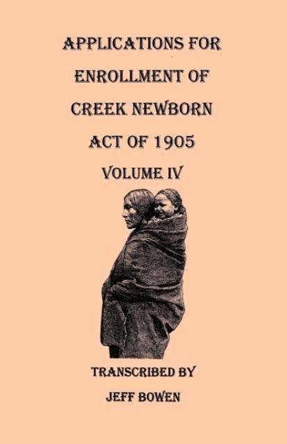 Applications for Enrollment of Creek Newborn al...