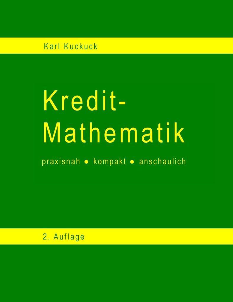 Kredit - Mathematik als eBook Download von Karl...