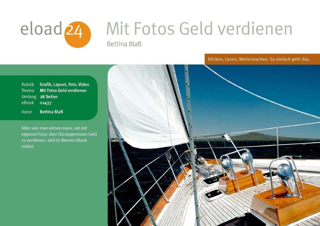 Mit Fotos Geld verdienen als eBook Download von...