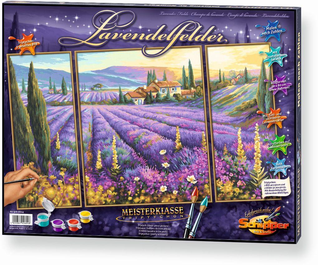 Schipper Malen nach Zahlen - Lavendelfelder (Tr...