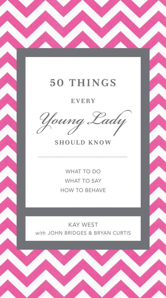 50 Things Every Young Lady Should Know als eBoo...