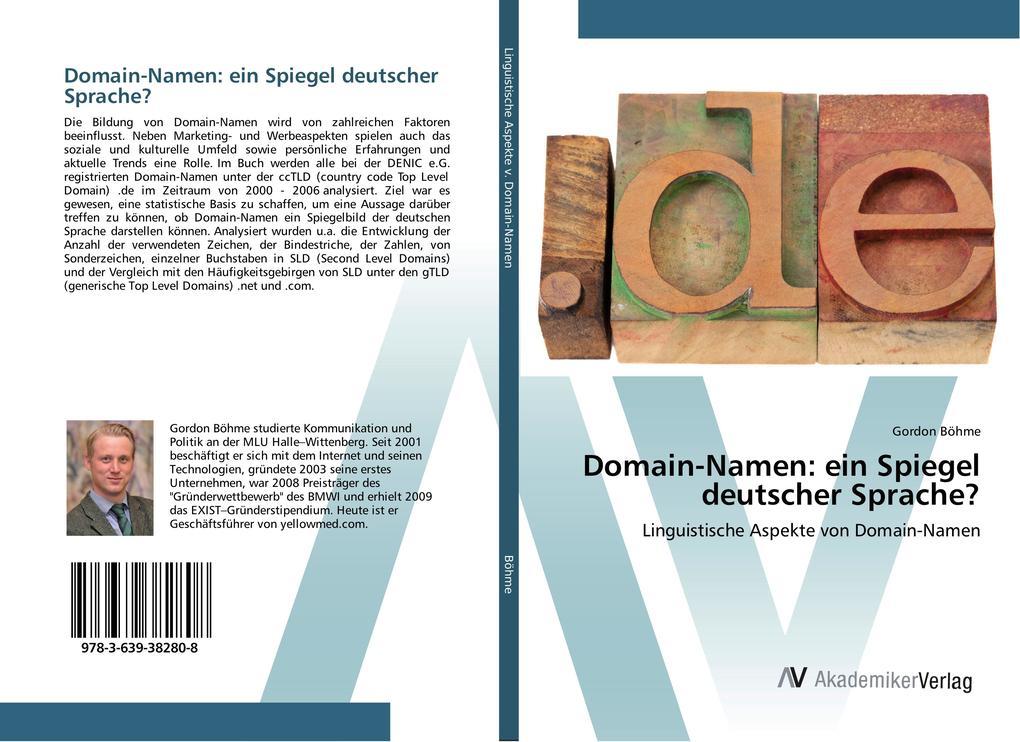 Domain-Namen: ein Spiegel deutscher Sprache? al...