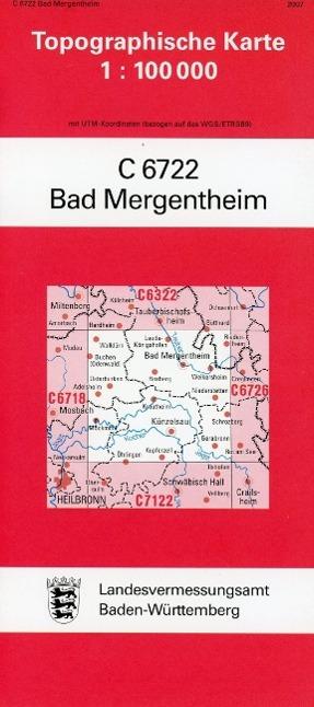 Bad Mergentheim 1 : 100 000 als Buch von