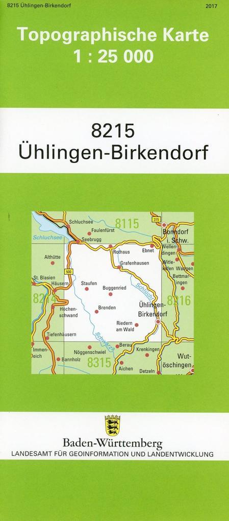 Ühlingen-Birkendorf 1 : 25 000 als Buch von