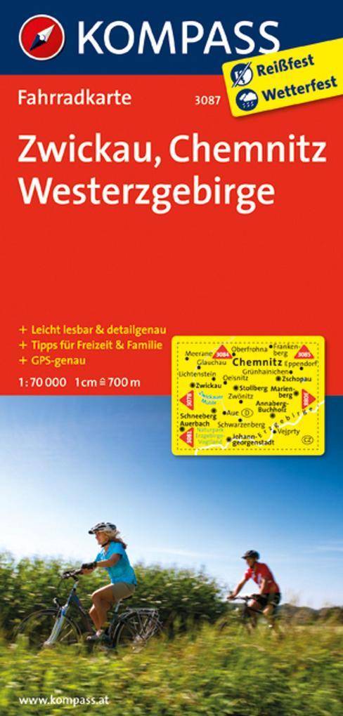 Zwickau - Chemnitz - Westerzgebirge 1 : 70 000 ...