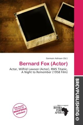 Bernard Fox (Actor) als Taschenbuch von