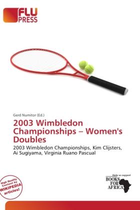 2003 Wimbledon Championships - Women´s Doubles ...