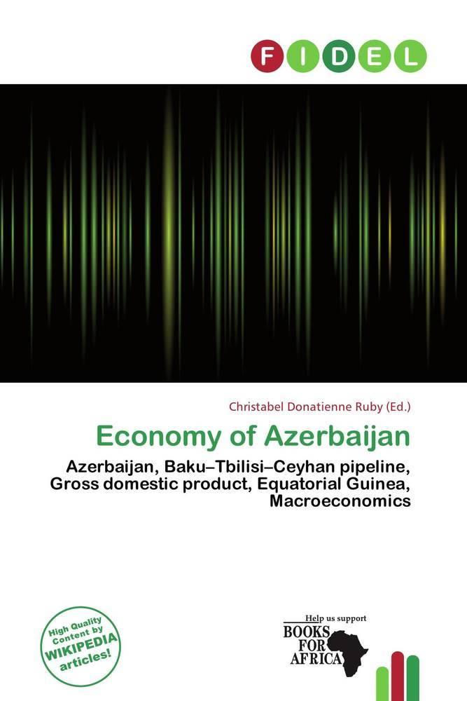 Economy of Azerbaijan als Taschenbuch von