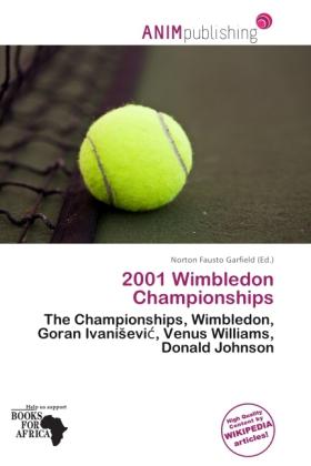 2001 Wimbledon Championships als Taschenbuch von