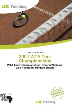 2001 Wta Tour Championships als Taschenbuch von