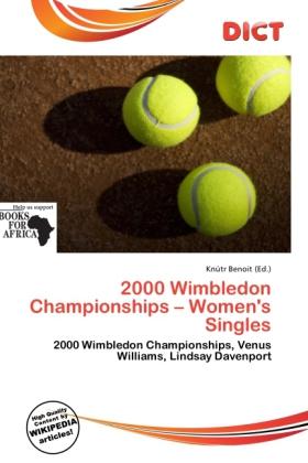 2000 Wimbledon Championships - Women´s Singles ...