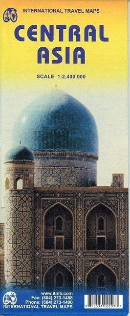 Central Asia 1 : 2 400 000 als Buch von