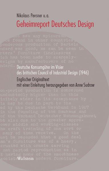Geheimreport Deutsches Design als Buch von Niko...