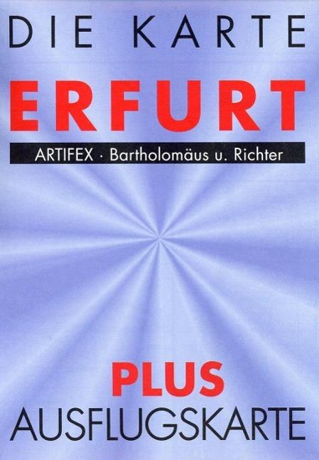 Erfurt 1 : 17 000 als Buch von