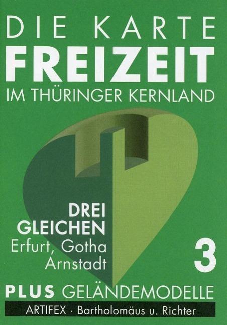Die Karte - Freizeit in Thüringen 03. Drei Glei...