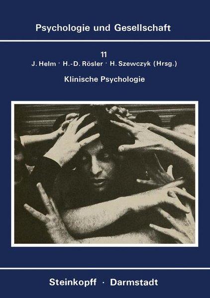 Klinische Psychologie als Buch von