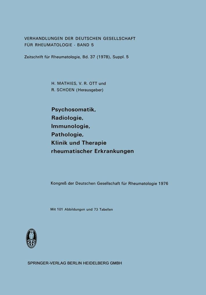 Psychosomatik, Radiologie, Immunologie, Patholo...