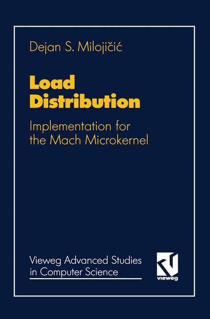 Load Distribution als Buch von Dejan Milojicic