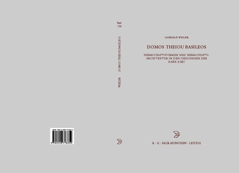 DOMOS THEIOU BZA 136 als Buch von Gabriele Weiler