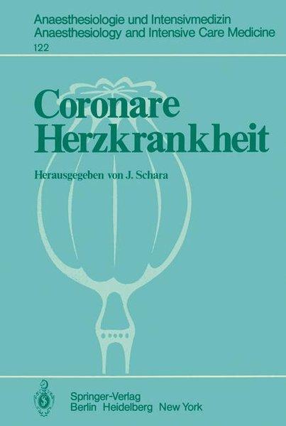 Coronare Herzkrankheit als Buch von
