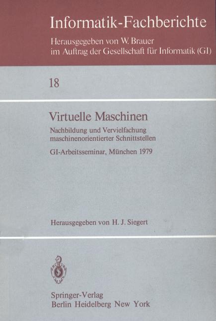 Virtuelle Maschinen als Buch von