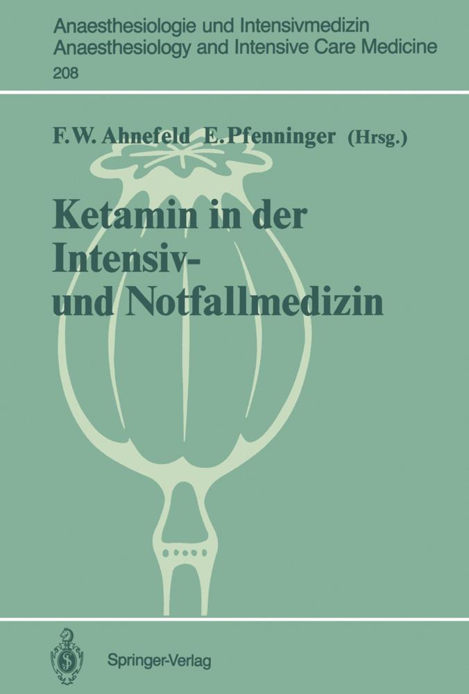 Ketamin in der Intensiv- und Notfallmedizin als...