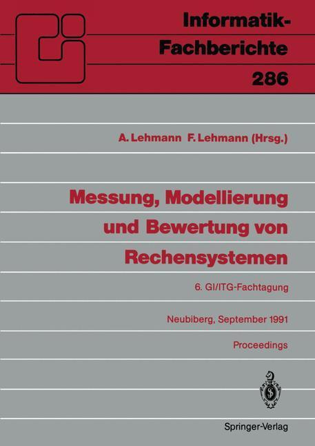 Messung, Modellierung und Bewertung von Rechens...
